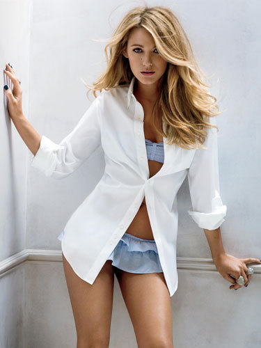Blake Lively wallpaper titled Photoshoot - Marie Claire Magazine