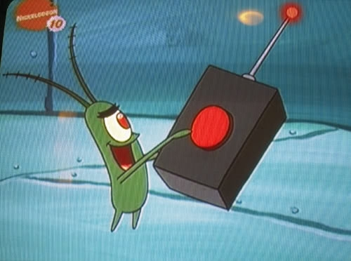 Plankton is at it again