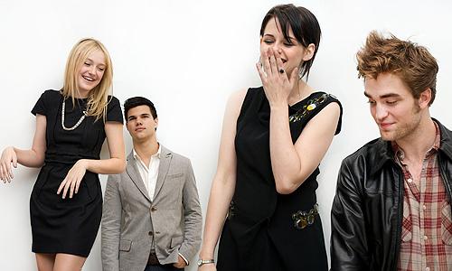 Press Conference Photos(Kristen,Taylor,Dakota, and Rob)