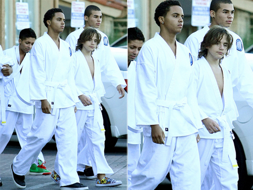 Prince after Karate ;) 11/3.09