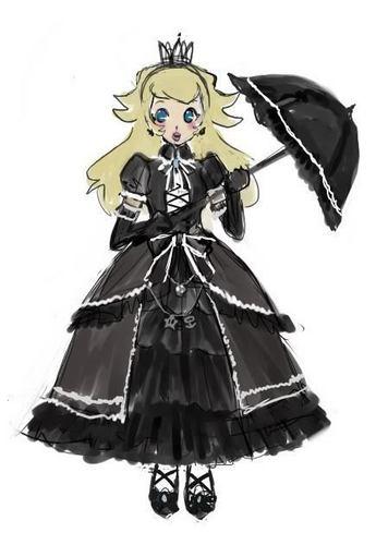 Princess pfirsich Gothic Style