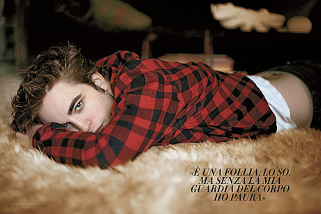 ROB PATTINSON Vanity Fair Italy pics(some new)