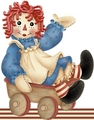 Raggedy Ann  - raggedy-ann-and-andy photo