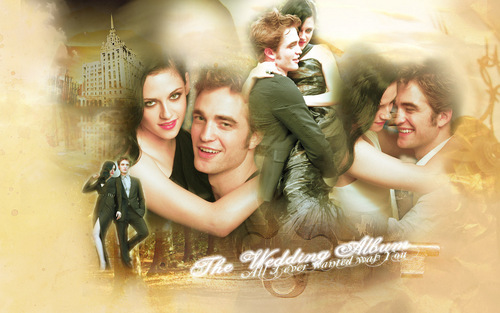Rob and Kristen - twilight-series Wallpaper