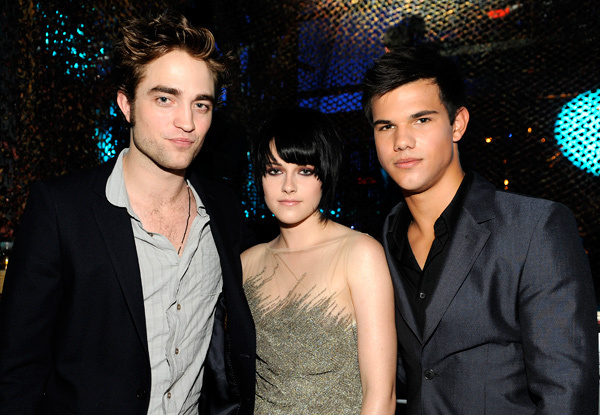 Robert, Kristen, Taylor, Ashley - MTV Music Awards
