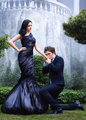 Robert Pattinson And Kristen Stewart In The December 2009 Issue Of Harper's Bazaar - twilight-series photo