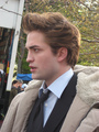 Robert Pattinson Twilight set - twilight-series photo