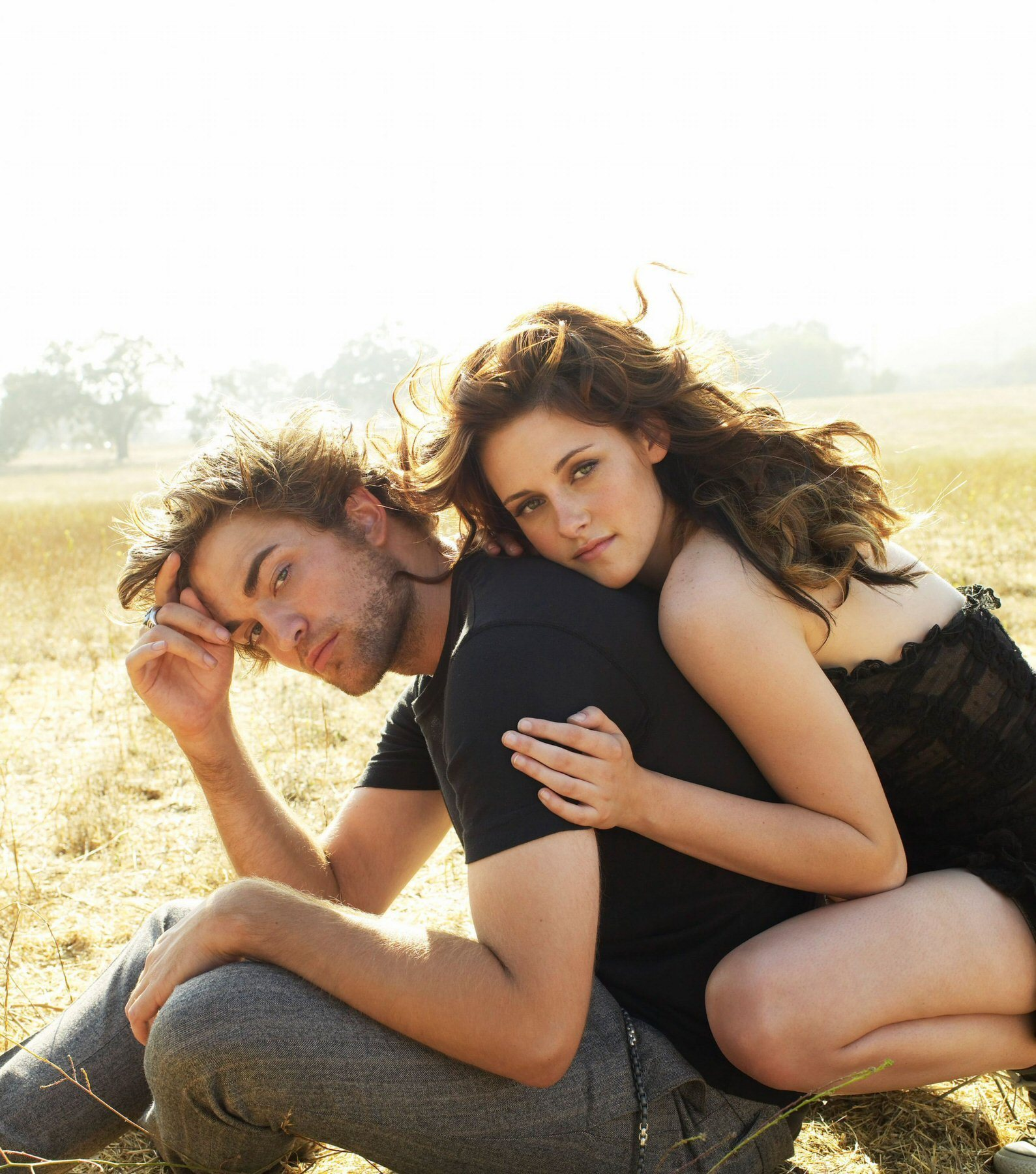 Download this Twilight Series Robert Pattinson And Kristen Stewart Vanity Fair picture