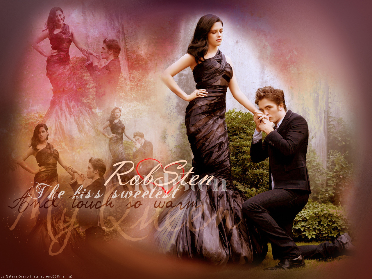 Robsten - robert-pattinson-and-kristen-stewart wallpaper