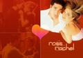 Ross and Rachel - friends fan art