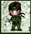 SNAKE - metal-gear-solid fan art