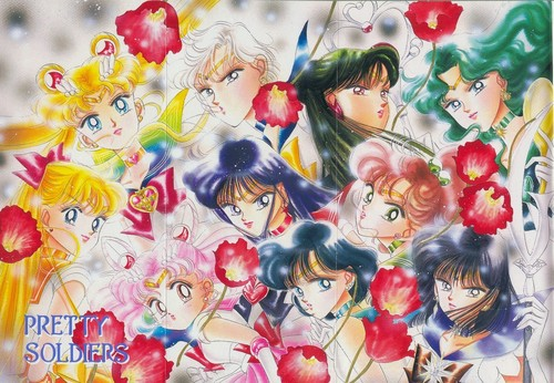 Сейлор Мун Обои called Sailor Moon Artbook