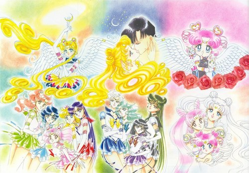 Sailor Moon Hintergrund entitled Sailor Moon Artbook