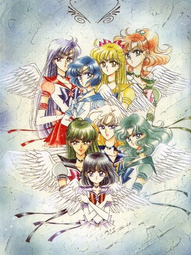 Sailor  Moon Sailor Stars Artbook