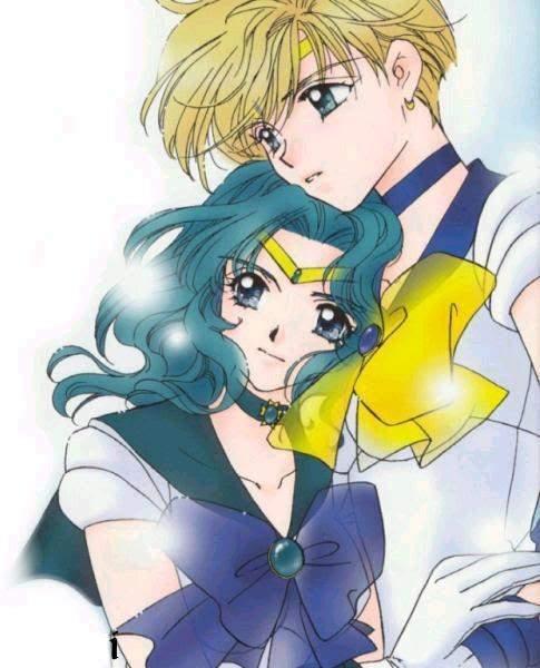 Sailor Neptune Neptune And Sailor Uranus