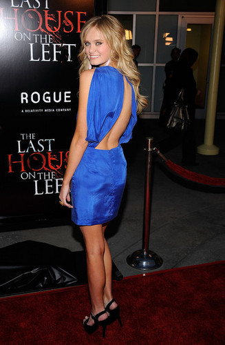"Sara Paxton at Premiere Of Rogue Pictures' ""The Last House On The Left on March 10th, 09"