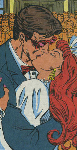 Scott Summers and Jean Grey