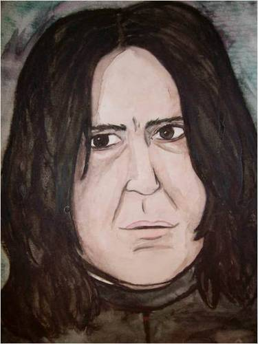 Snape in Watercolor