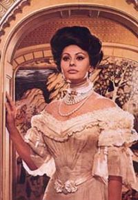 Sophia Loren wallpaper possibly containing a kirtle and a polonaise entitled Sophia Loren