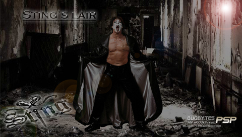 Sting WCW wallpaper possibly with a street entitled Sting's Lair PSP Wallpaper by bugbytes Wall Arts