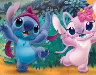 Lilo & Stitch wallpaper called StitchxAngel