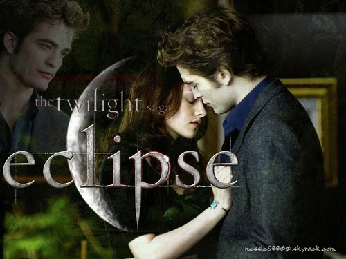 THE TWILIGHT SAGA ECLIPSE kertas dinding Fanmade