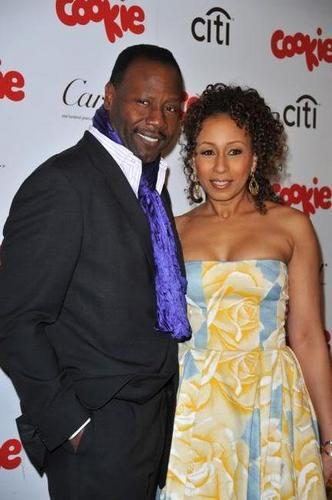 Tamara & Husband At Cookie Magazine Awards