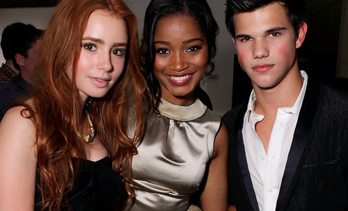 Taylor Lautner, Ashley Tisdale, مزید At The Teen Vogue Young Hollywood Party
