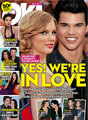 Taylor cepat, swift and Taylor Lautner: In Love?