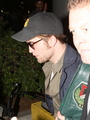 The Twilight Trinity (Kristen, Robert, & Taylor) & Chris Weitz Leaving LA - twilight-series photo