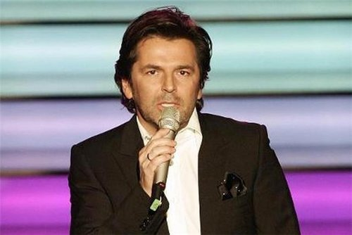 modernong mga pakikipag-usap wolpeyper containing a business suit titled Thomas Anders