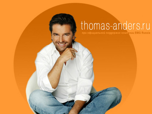 Modern Talking achtergrond called Thomas Anders