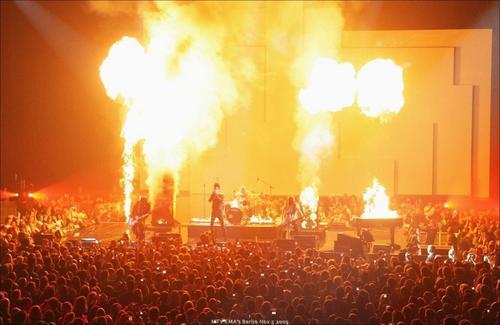 Tokio Hotel at the EMA 2009