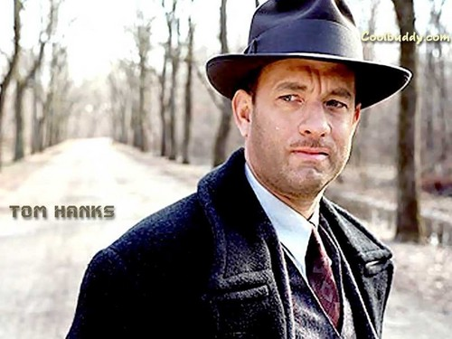 Tom Hanks wallpaper probably with a business suit, a fedora, and a well dressed person called Tom Hanks / Movies Wallpapers