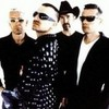 U2 photo with sunglasses and a well dressed person titled U2 <3