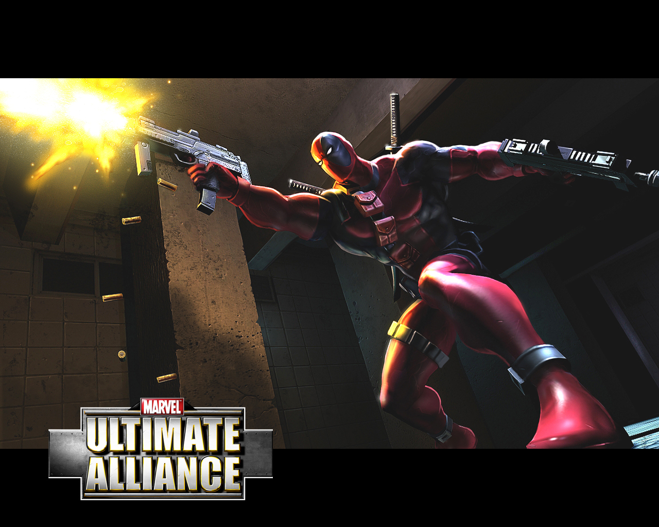 Ultimate Alliance Deadpool Ultimate Marvel Fond D écran