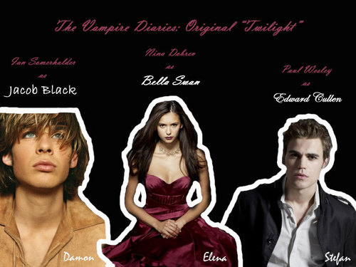 Vampire Diaries Original Twilight