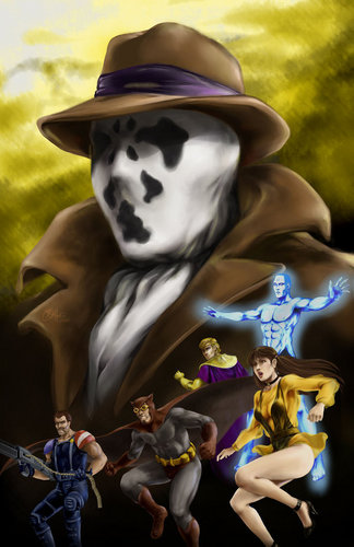 Watchmen wallpaper containing anime entitled Watchmen