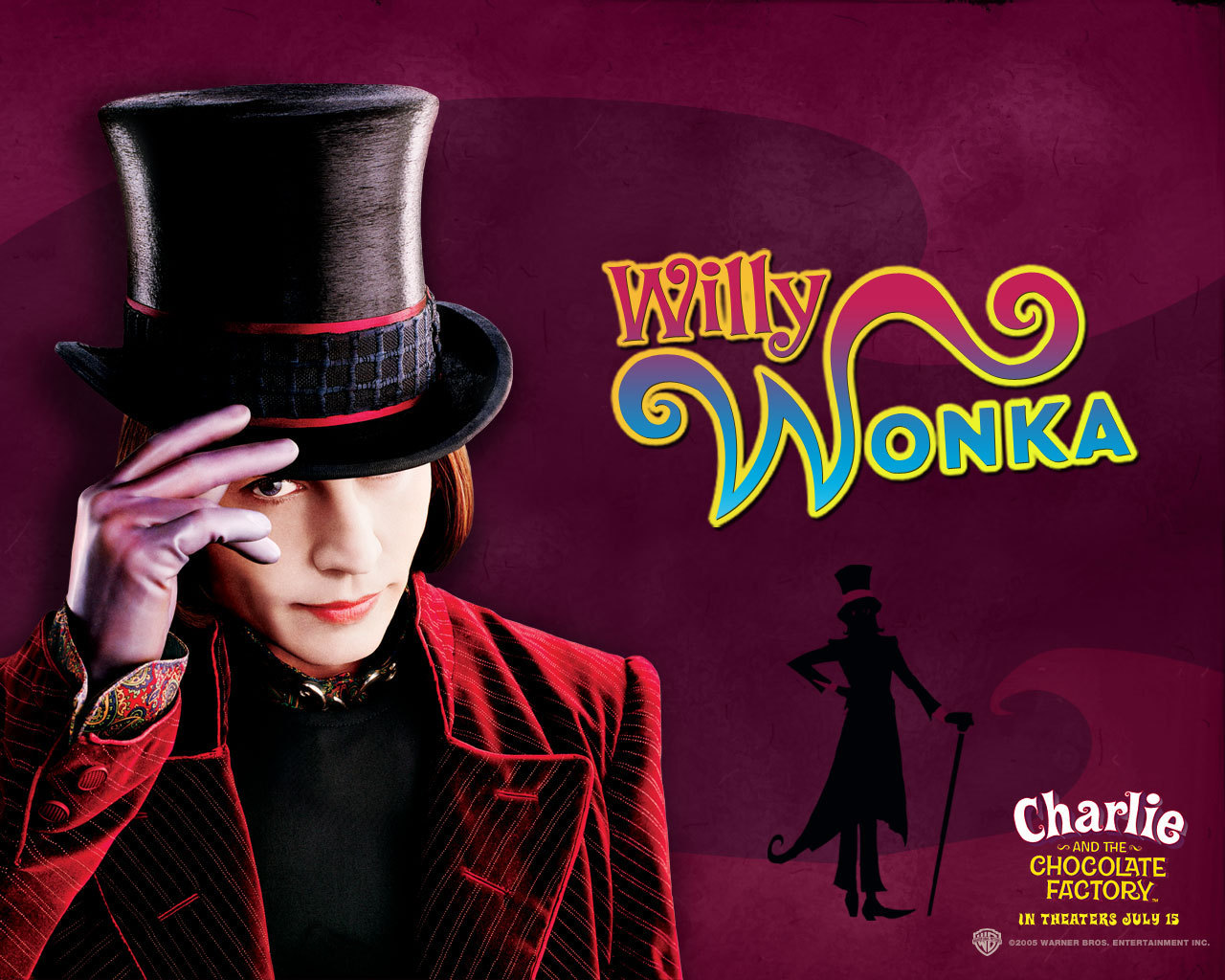 johnny depp 39 s movie characters images willy wonka hd