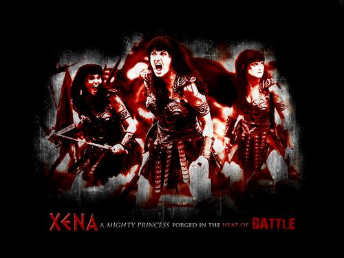 Xena Battle wallpaper