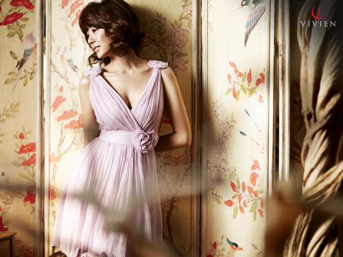 Yoon eun hye wallpaper possibly with a cocktail dress titled Yoon Eun Hye