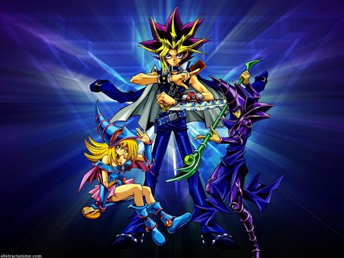 Yami Yugi karatasi la kupamba ukuta probably with a bouquet and anime entitled Yugi