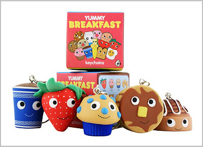 Yummy Breakfast Keychains