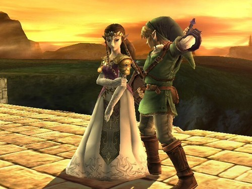 Zelda&Link - the-legend-of-zelda Photo