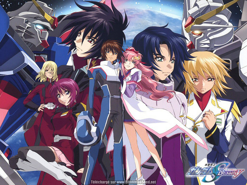 all - Gundam Seed Destiny 800x600