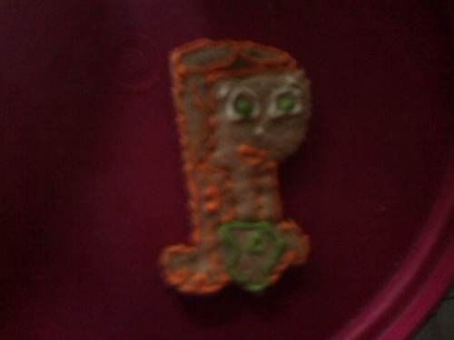 an Izzy cookie