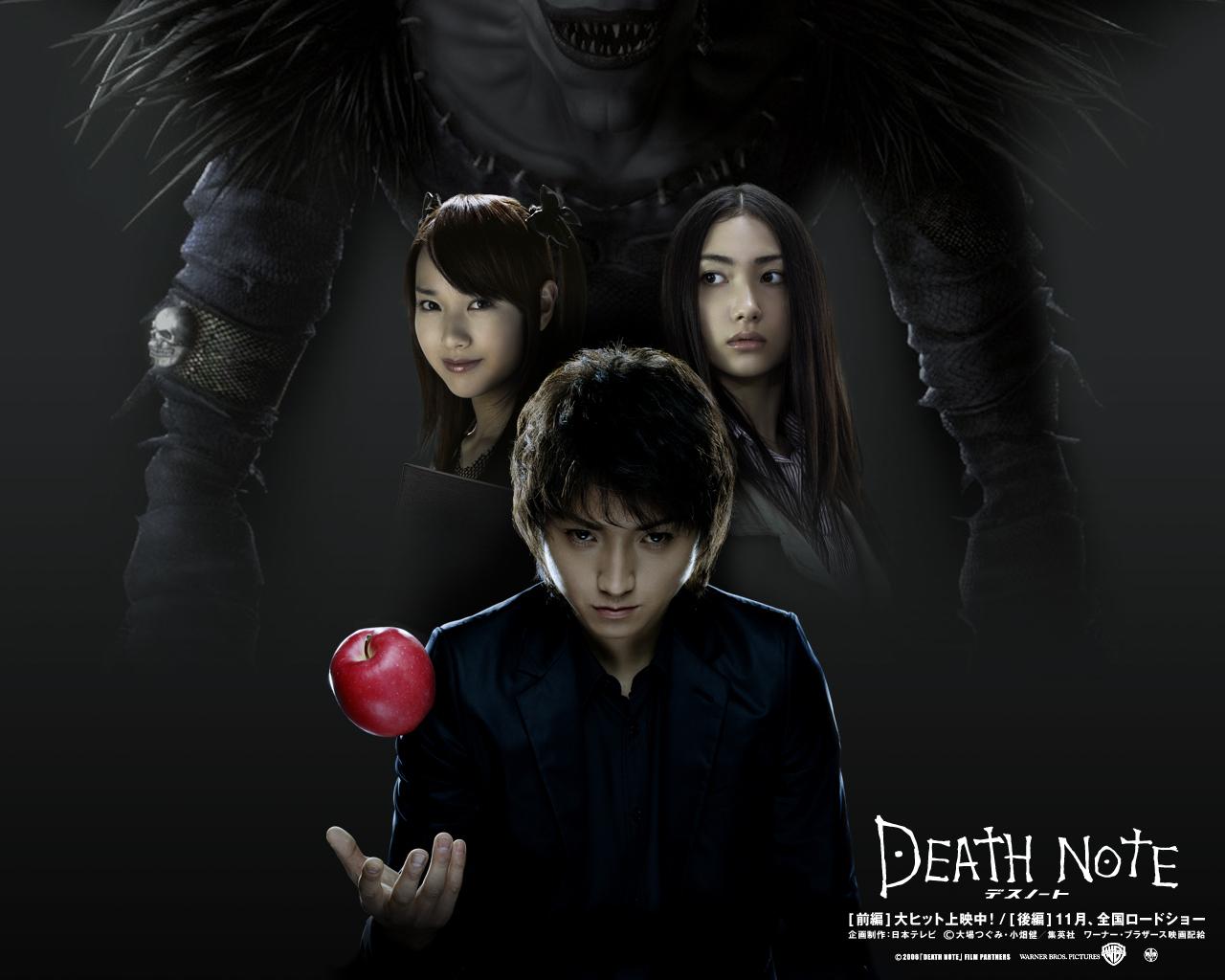 death note - Death Note The Movie Wallpaper (8978336) - Fanpop