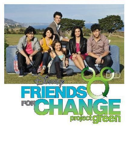 freinds for change Фан art