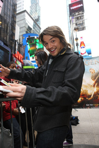 Craig Horner wallpaper containing a street and a business suit entitled gfdsh