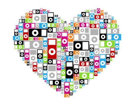 ipod hearts